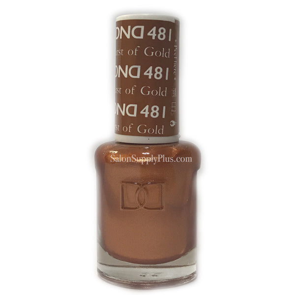 481 - DND Lacquer - Burst of Gold