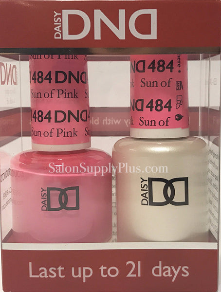 484 - DND Duo Gel - Sun of Pink