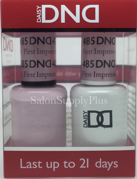 485 - DND Duo Gel - First Impression