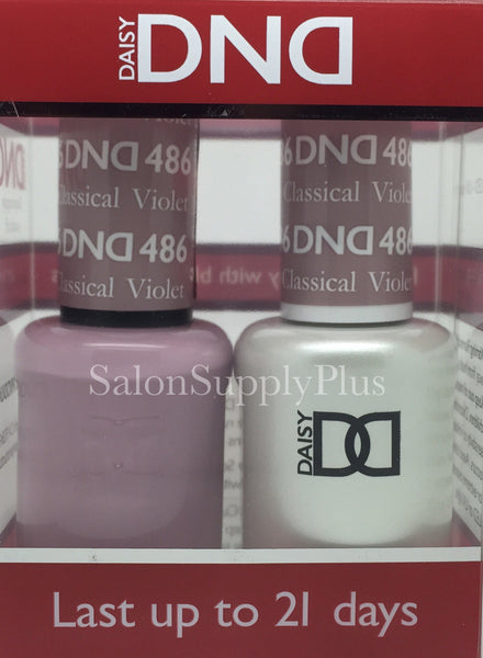 486 - DND Duo Gel - Classical Violet