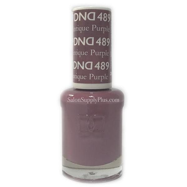 489 - DND Lacquer - Antique Purple