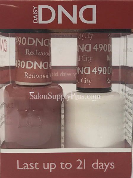 490 - DND Duo Gel - Redwood City