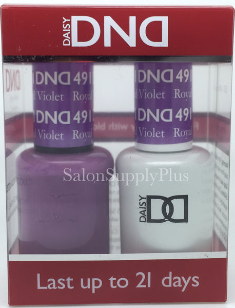 491 - DND Duo Gel - Royal Violet