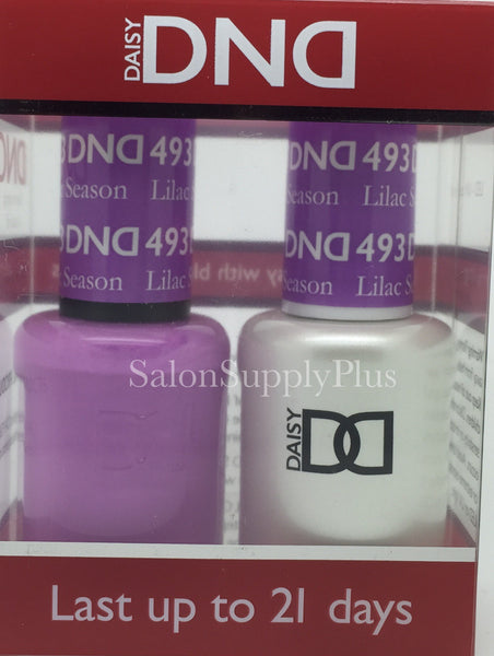 493 - DND Duo Gel - Lilac Season