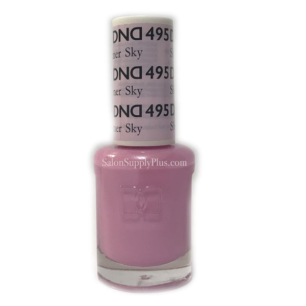 495 - DND Lacquer - Shimmer Sky