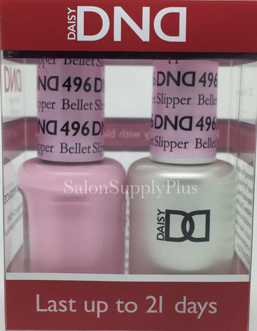 496 - DND Duo Gel - Ballet Slipper