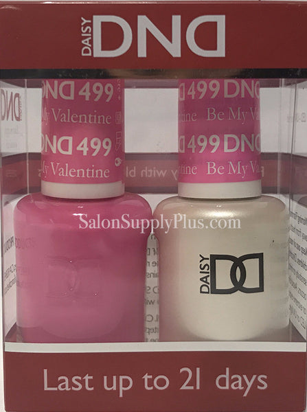 499 - DND Duo Gel - Be My Valentine