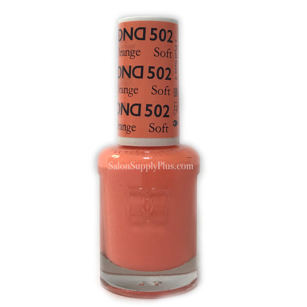 502 - DND Lacquer - Soft Orange