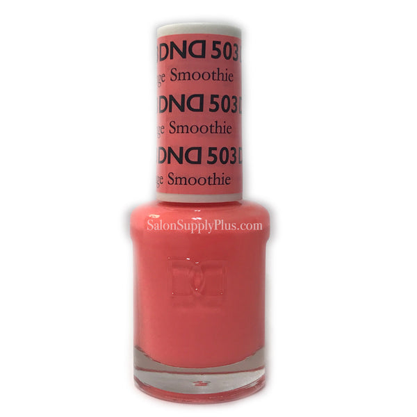 503 - DND Lacquer - Orange Smoothie