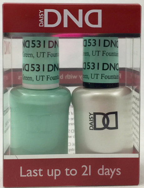 531 - DND Duo Gel-  Fountain Green, UT