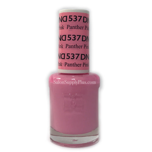 537 - DND Lacquer - Panther Pink