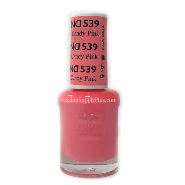539 - DND Lacquer - Candy Pink
