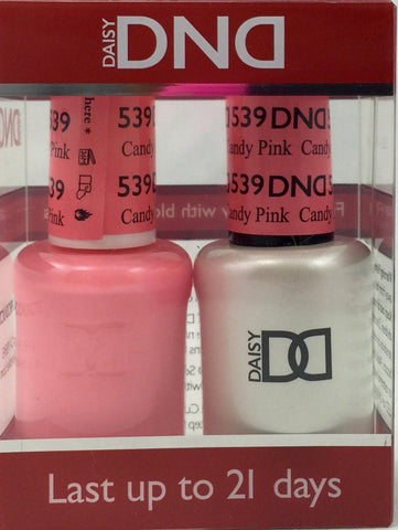 539 - DND Duo Gel - Candy Pink