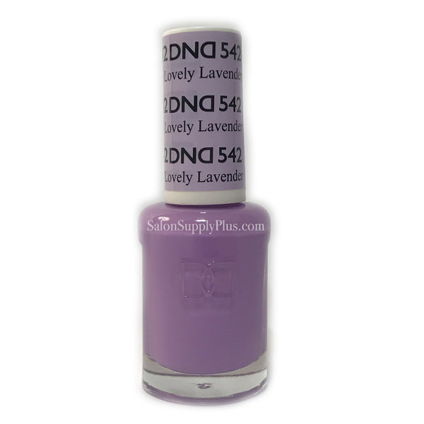 542 - DND Lacquer - Lovely Lavender