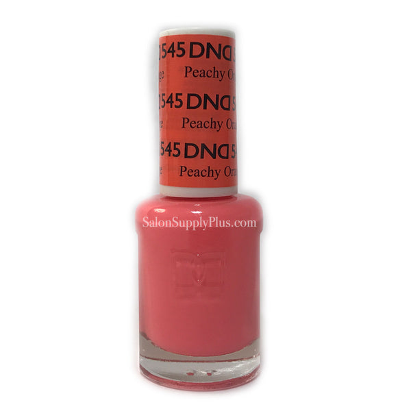 545 - DND Lacquer - Peachy Orange