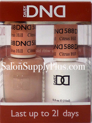 588 - DND Duo Gel - Citrus Hill - (Diva Collection)