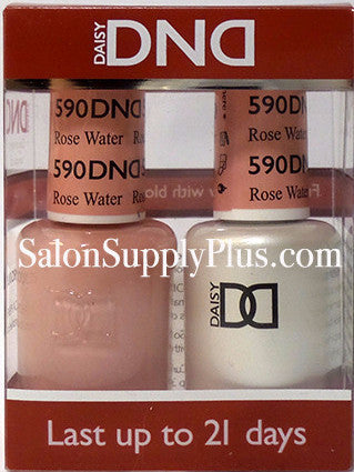 590 - DND Duo Gel - Rose Water - (Diva Collection)