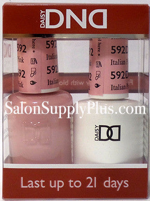 592 - DND Duo Gel - Italian Pink - (Diva Collection)