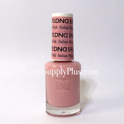 592 - DND Lacquer - Italian Pink - (Diva Collection)