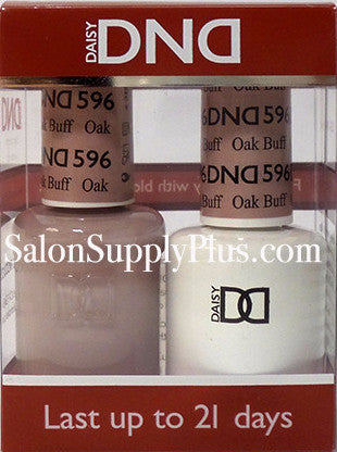 596 - DND Duo Gel - Oak Buff - (Diva Collection)