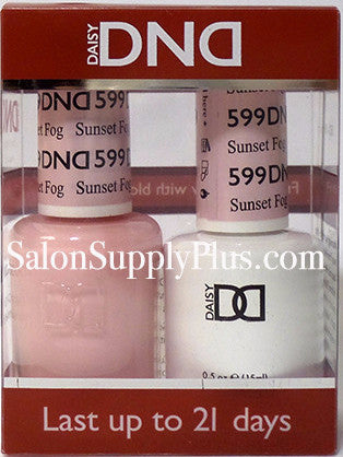 599 - DND Duo Gel - Sunset Fog - (Diva Collection)