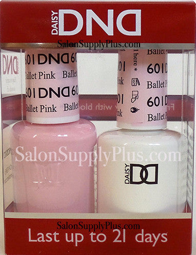 601 - DND Duo Gel - Ballet Pink - (Diva Collection)