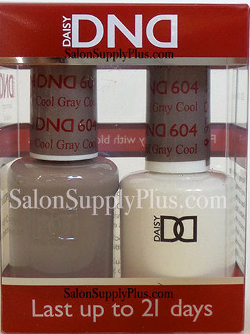 604 - DND Duo Gel - Cool Gray - (Diva Collection)