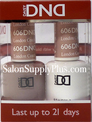 606 - DND Duo Gel - London Coach - (Diva Collection)