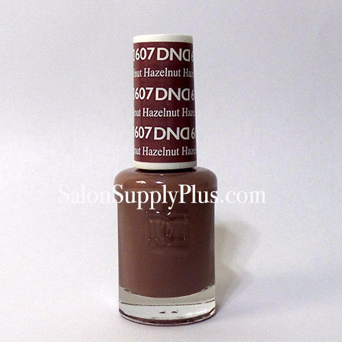 607 - DND Lacquer -Hazelnut - (Diva Collection)