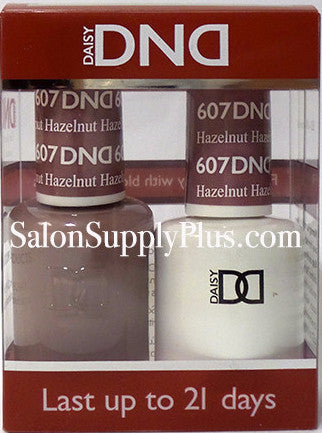 607 - DND Duo Gel - Hazelnut - (Diva Collection)