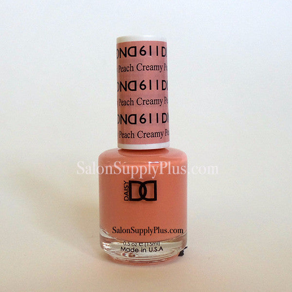 611- DND Lacquer -Creamy Peach - (Diva Collection)