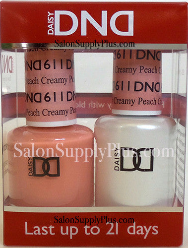 611 - DND Duo Gel - Creamy Peach - (Diva Collection)