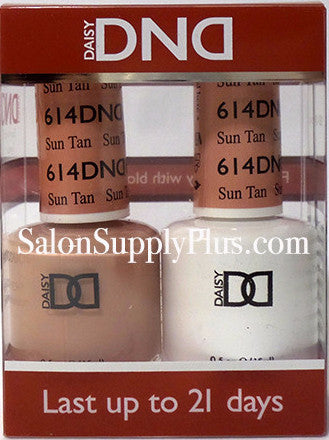614 - DND Duo Gel - Sun Tan - (Diva Collection)