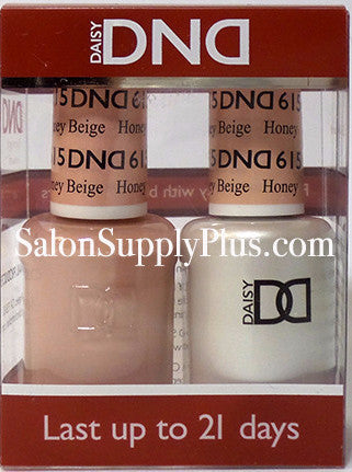 615 - DND Duo Gel - Honey Beige - (Diva Collection)