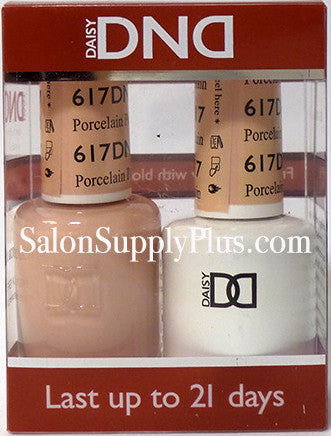 617 - DND Duo Gel - Porcelain - (Diva Collection)