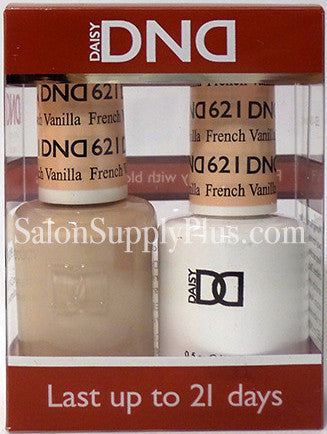 621 - DND Duo Gel - French Vanilla - (Diva Collection)