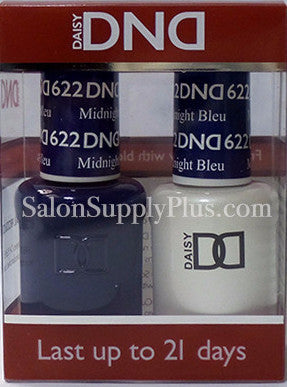 622 - DND Duo Gel - Midnight Bleu - (Holiday Collection)