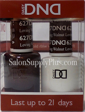 627 - DND Duo Gel - Loving Walnut - (Holiday Collection)