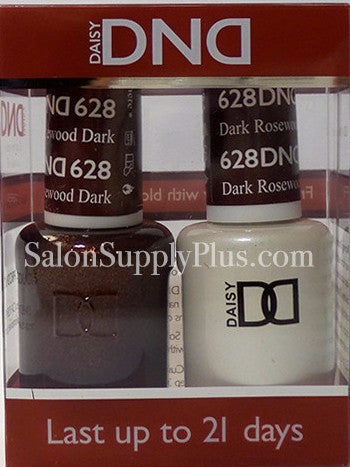 628 - DND Duo Gel - Dark Rosewood  - (Holiday Collection)