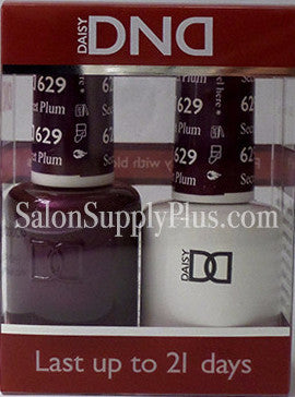 629 - DND Duo Gel - Secret Plum - (Holiday Collection)