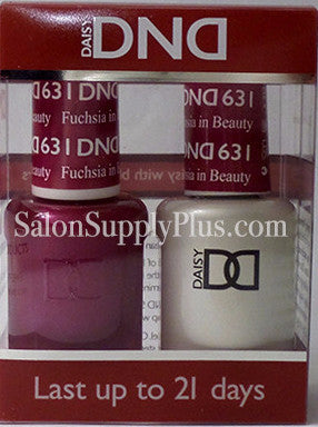 631 - DND Duo Gel - Fuchsia in Beauty - (Holiday Collection)