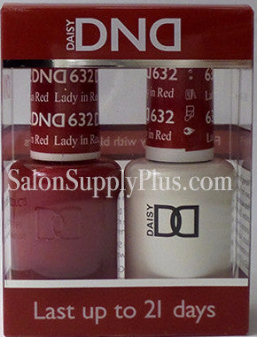 632 - DND Duo Gel - Lady in Red - (Holiday Collection)