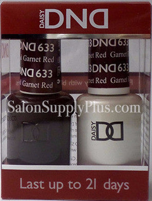 633 - DND Duo Gel - Garnet Red - (Holiday Collection)