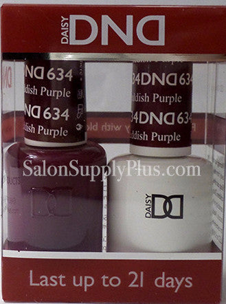 634 - DND Duo Gel - Reddish Purple  - (Holiday Collection)