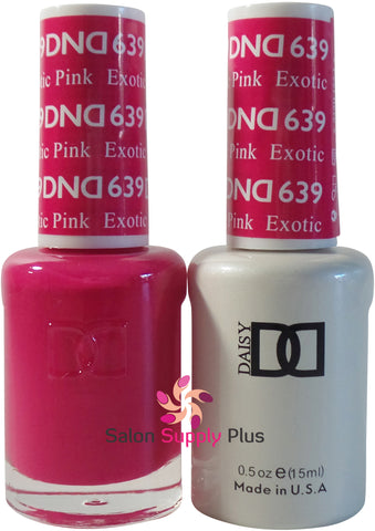 639 - DND Duo Gel- Exotic Pink
