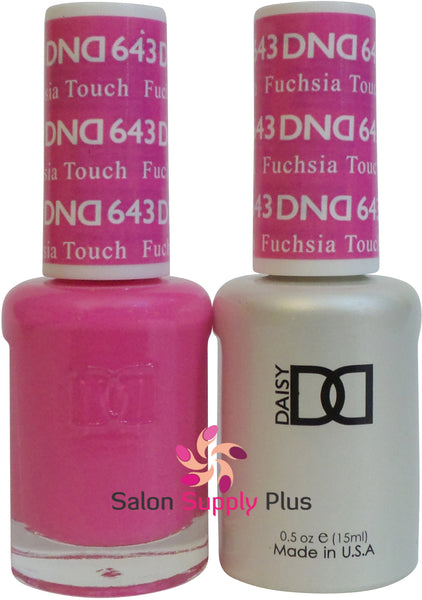 643 - DND Duo Gel - Fuchsia Touch