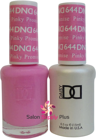 644 - DND Duo Gel - Pinky Promise