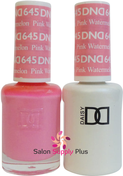 645 - DND Duo Gel - Pink Watermelon