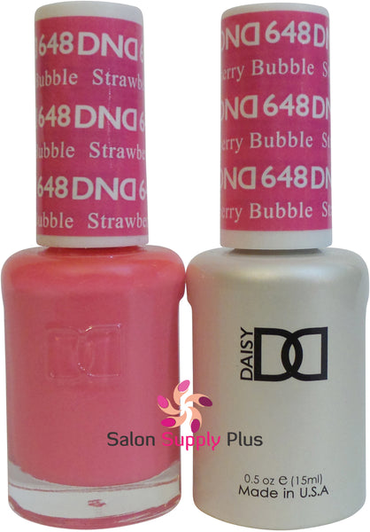 648 - DND Duo Gel - Strawberry Bubble