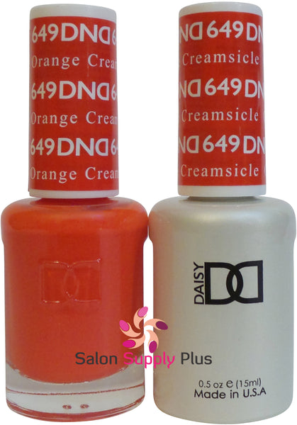 649 - DND Duo Gel - Orange Creamsicle